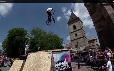 Ako dopadla jedinečná cyklistická akcia v historickom centre Košíc?