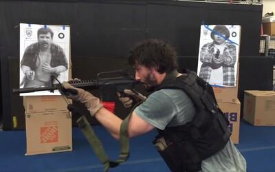 Ako Keanu Reeves trénoval na rolu Johna Wicka? Zbrane a boj zblízka sa stali jeho alfou a omegou