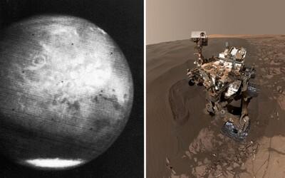 Ako ľudstvo spoznávalo Mars? Od prvých neostrých záberov až po snímky s vysokým rozlíšením či selfie