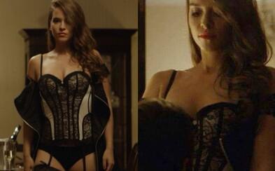 Ako nalákať na slovenský seriál? Vyzlečte v traileri sexy Kristínu Svarinskú