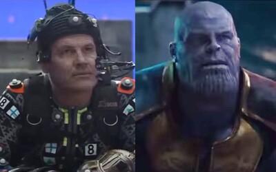 Ako počítačové efekty premenili Josha Brolina na skvelého Thanosa? Sledujte videá z natáčania porovnávajúce film pred a po pridaní CGI