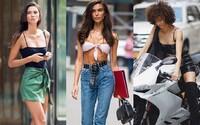 Ako prišli odeté modelky na casting blížiacej sa Victoria's Secret fashion show? Predviedli sa v koženom outfite aj čipkovanom body
