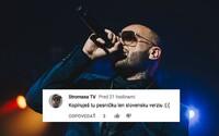 Ako reagujú poslucháči na Rytmusov remix skladby Rockstar? Ľudia sa stále spamätávajú z textu a niektorí si myslia, že ide o krádež