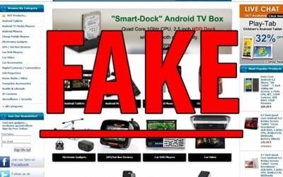Ako rozoznať fake? #1: Web stránky