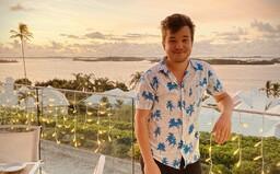 Ako sa dá stratiť v Bermudskom trojuholníku? Martin Harich strávil karanténu v tropickom raji