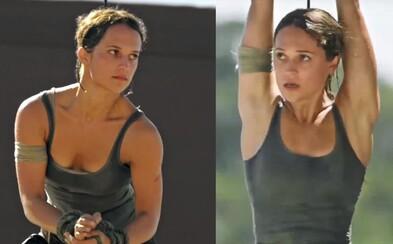 Ako sa natáčal nový Tomb Raider? Alicia Vikander potila krv, len aby sa film čo najviac podobal hre