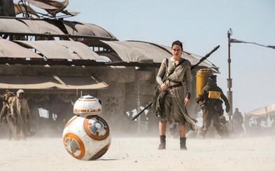 Ako sa natáčalo Star Wars: The Force Awakens?