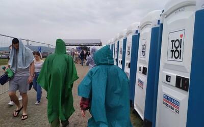 Ako sa návštevníci Pohody pripravili na búrky?