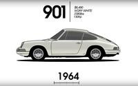 Ako sa (ne)zmenila ikonická 911-ka za 52 rokov? Zaujímavá, vyše minútová animácia to približuje