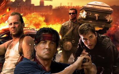 Ako sa vyvíjal akčný film, kto boli jeho najväčšie hviezdy a aké boli jeho trendy?
