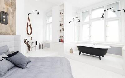 Ako spojiť 2 byty do úchvatnej 150 m² rozsiahlej obytnej plochy plnej moderny, vám predvedie české štúdio