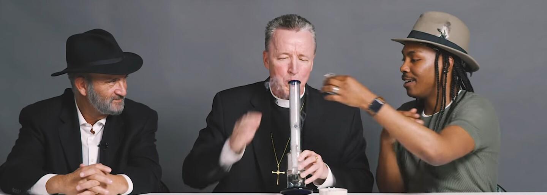 Ako to dopadne, keď pastor, rabín a ateista fajčia marihuanu a rozprávajú sa o náboženstve? Zaujímavé myšlienky by ťa mohli pokojne inšpirovať