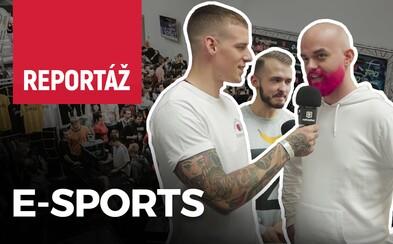 Ako to vyzeralo na najväčšej slovenskej e-sportovej akcii? Moderátori Barborka a Krištof vyspovedali Žolika i Mateja Zrebného (Video)