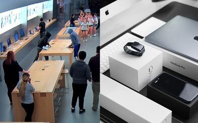 Ako ukradnúť Apple výrobky za 23-tisíc eur v priebehu 30 sekúnd? Štyria maskovaní muži prepadli Apple Store expresne rýchlo