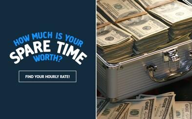 Ako veľmi je cenný tvoj voľný čas? Šikovná stránka ti povie, za koľko si ochotný predať jednu voľnú hodinu