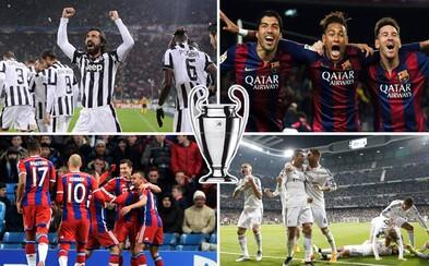 Ako vidíme zápasy semifinále Ligy majstrov? Poputuje ušatá trofej do Španielska, Nemecka či Talianska?