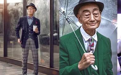 Ako vnuk premenil svojho 85-ročného starého otca na módnu ikonu. Síce iba na deň, ale aj tak to bol životný zážitok