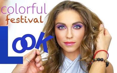 Ako vyniknúť aj v dave na festivale? Pozri si pestré líčenie s Barborou Bakošovou