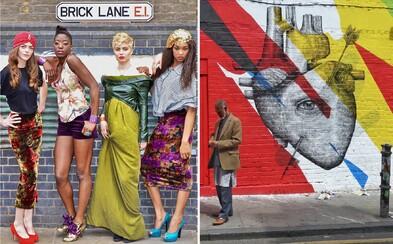 Ako vyzerá móda a street art na londýnskej Brick Lane?