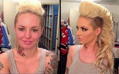 Ako vyzerajú pornoherečky bez make-upu? #2