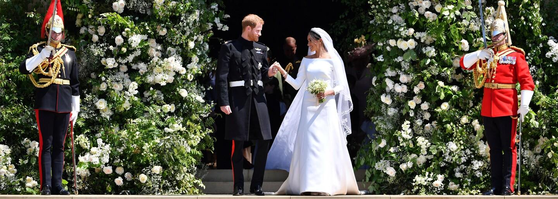 Ako vyzerala svadba princa Harryho a Meghan Markle? Výnimočnej udalosti sa zúčastnili aj Beckhamovci, George Clooney či herci zo Suits