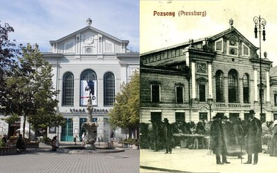 Ako vyzerali pred rekonštrukciou Central či Stará tržnica? Pozri si, ktoré stavby Bratislava úspešne obnovila