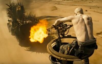 Ako vyzeralo natáčanie Mad Max: Fury Road bez počítačových efektov? Smrť číhala na každom metri