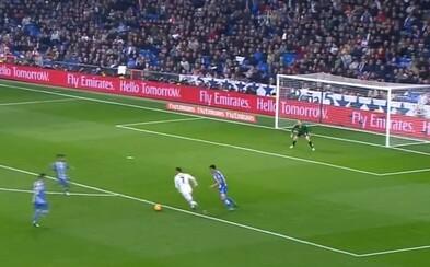 Ako za starých čias. Ronaldo sa pohral s obranou súpera a tvrdou strelou nedal brankárovi žiadnu šancu