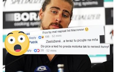 Ako zareagovali na diskvalifikáciu Petra Sagana slovenskí športoví odborníci na Facebooku? Nadávali, analyzovali, ale aj pobavili