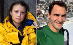Aktivisté kritizují Rogera Federera, přidala se i Greta Thunberg. Vzkazují mu, že se má probrat