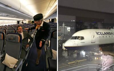 Aktualizace: Islandská letecká společnost zatím nevyhodí všechny letušky. Jejich práci měli původně nahradit piloti