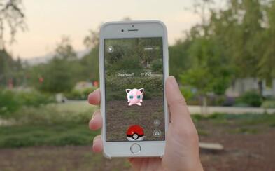 Aktualizácia pre Pokémon GO umožňuje zmeniť nick a opravuje niekoľko chýb
