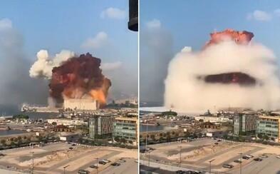 Aktualizováno: Mohutná exploze v Bejrútu zabila nejméně 10 lidí a zranila stovky dalších