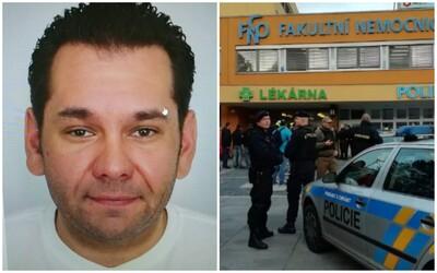 AKTUALIZOVANÉ: Útočník z ostravskej nemocnice je mŕtvy. Potvrdila to polícia