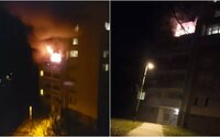 Aktualizované: V Košiciach evakuovali bytovku. Na 5. poschodí vypukol požiar, zranených previezli do nemocnice