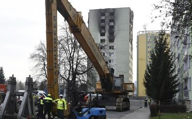 AKTUÁLNĚ: Sleduj živě bourání paneláku poškozeného explozí plynu v Prešově