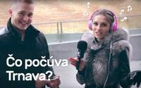 Akú hudbu počúva Trnava? Respondenti v uliciach čitateľom odporučili tieto tracky (Video)