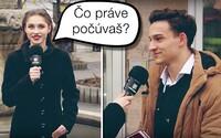 Akú hudbu počúvajú mladí Slováci? Opäť sme ich zastavili a opýtali sa, čo práve letí