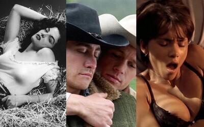 Aký odvážny bol sex vo filmoch na začiatku? Od prvého bozku, cez nahotu až po homosexuálnu lásku