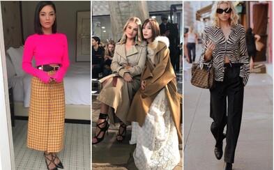 Akými outfitmi privítali jeseň svetové celebrity ako Vanessa Hudgens, Bella Hadid alebo Nicki Minaj?