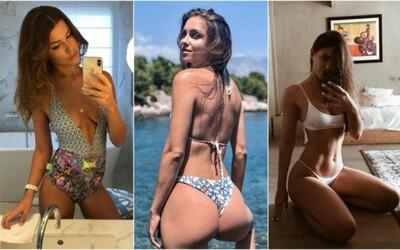 Akými plavkami prekvapili toto leto známe Slovenky a Češky? Aktuálne plážové outfity vynikli najmä vďaka sexi telám