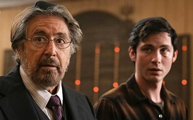 Al Pacino vraždí nácky ukrývající se v USA v 70. letech. V seriálu Hunters vytváří tým mladých zabijáků
