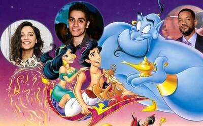 Aladin dostane remake od skvelého režiséra Guya Ritchieho. Dnes už vieme, akí herci stvárnia hlavné postavy