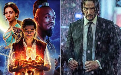 Aladin je dalším velkým hitem od Disney. Kolik už vydělal John Wick 3 a Avengers: Endgame? (Box Office)