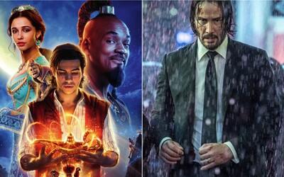 Aladin je ďalším veľkým hitom od Disney. O koľko viac zarobil oproti John Wick 3 a Avengers: Endgame? (Box Office)