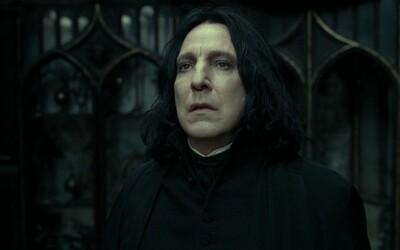 Alana Rickmana role profesora Snapea frustrovala. Poukazují na to jeho soukromé dopisy