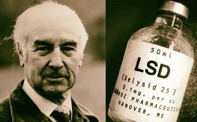 Albert Hofmann: Otec nejsilnější psychoaktivní drogy - LSD. Náhodný objev, který měl nesmírný dopad na celé lidstvo