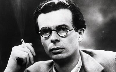 Aldous Huxley: Významný intelektuál s kladným vztahem k psychedelikům, jehož dystopické romány jsou dodnes rozebírány na univerzitách
