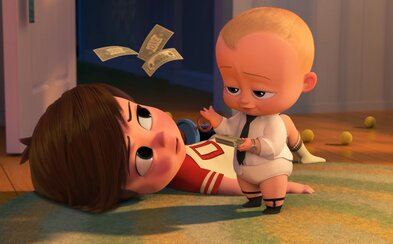 Alec Baldwin nahovoril v milom traileri animáku Baby Boss inteligentného novorodenca, ktorý rozpráva