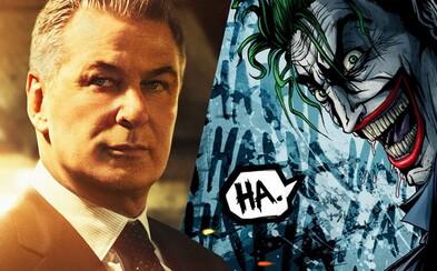 Alec Baldwin si v Jokerovej sólovke zahrá Batmanovho otca Thomasa Wayna